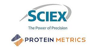 SCIEX and Protein Metrics Logo