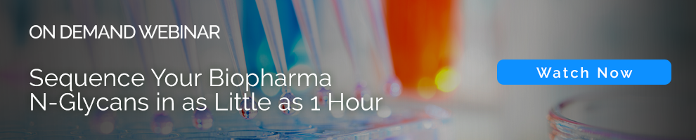 Sequence Your Biopharma N-Glycans in as Little as 1 Hour