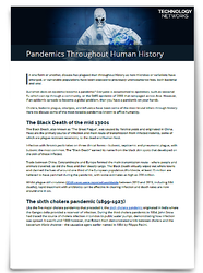 PandemicsThroughoutHumanHistory_List