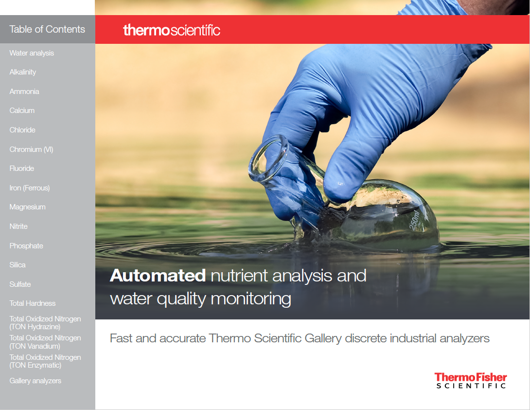 Automated Water Analysis