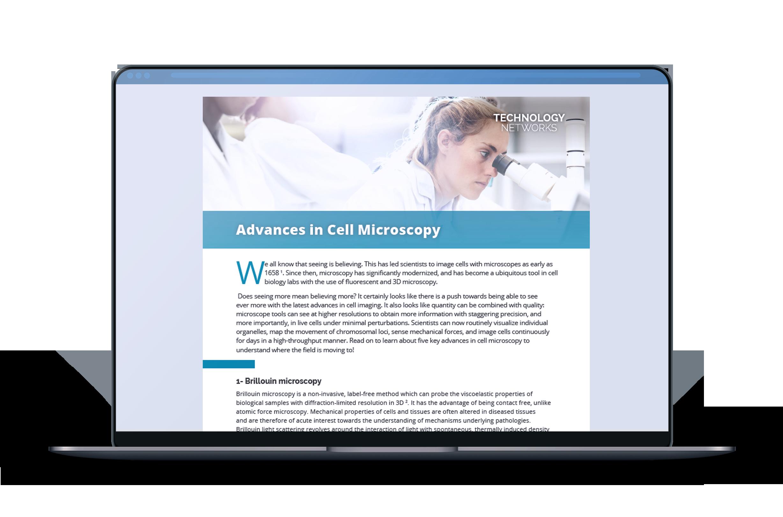 AdvancesInCellMicroscopy