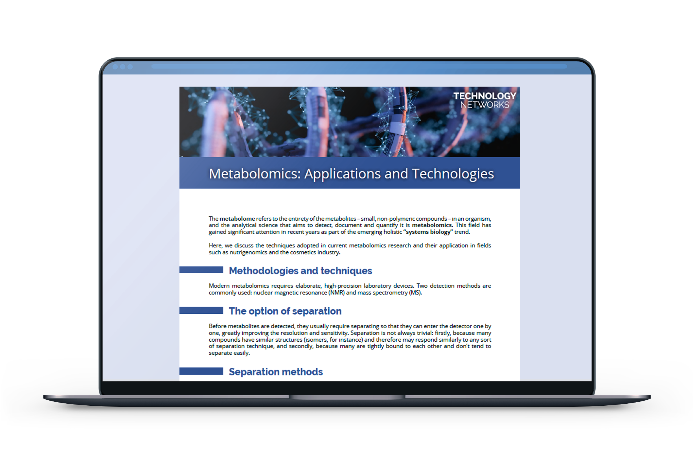 TN_EDPIECE_MetabolomicsApplicationsAndTechnologies_List